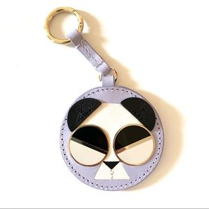 Kate Spade metro spademals gentle panda key chain